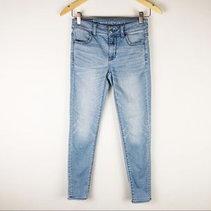 American Eagle Outfitters super stretch skinny 0s